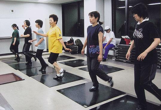 近衛真理タップダンス