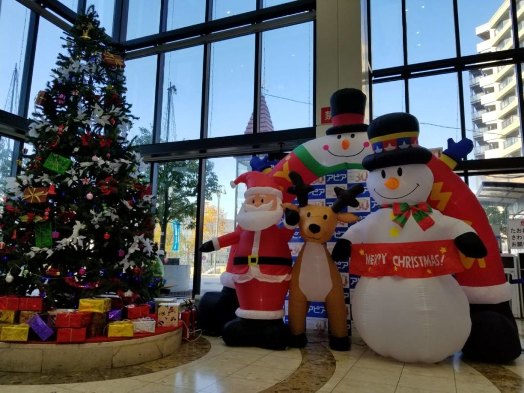 クリスマス装飾1